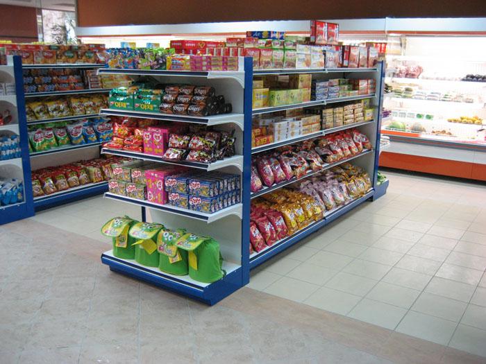 Malaysia Supermarket Display Racks Shelving